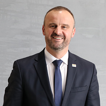 ACT Chief Minister, Andrew Barr MLA