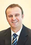 Treasurer - Andrew Barr