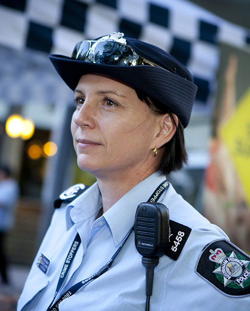 Australian Federal Police officer